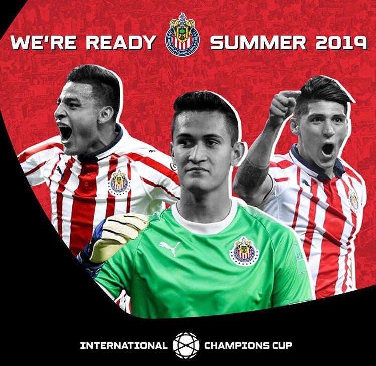 Chivas International Champions Cup Calendario.Chivas Formara Parte De La International Champions Cup